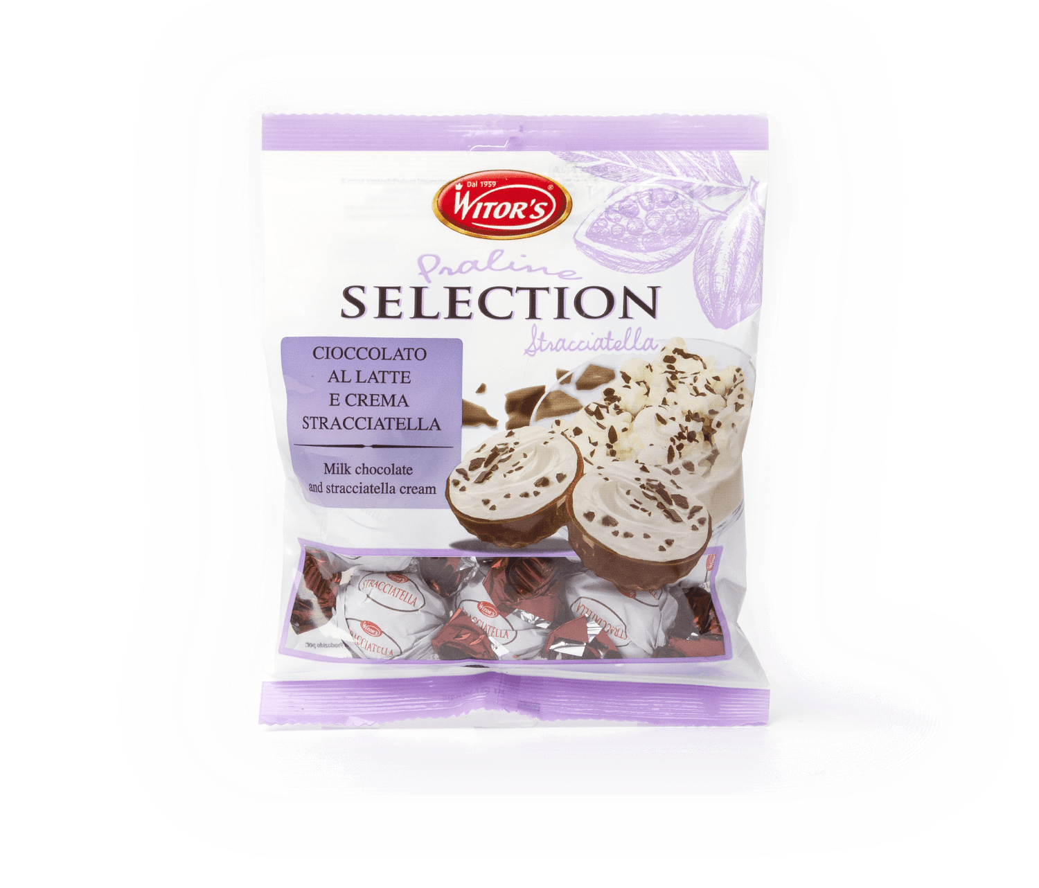Bombons creamy mix WITOR'S 120g