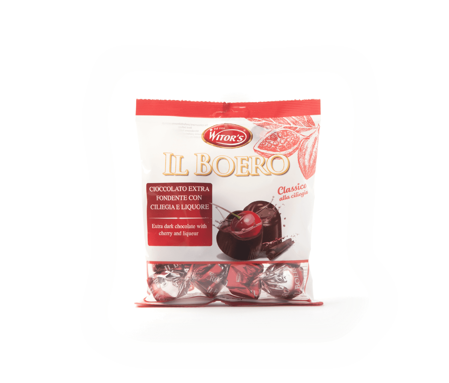 Bombons cirera WITOR'S 110g