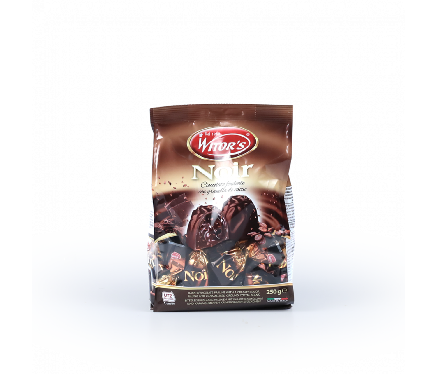 Bombons xocolata negre Witor's 250g
