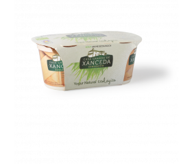 Iogurt natural crem ECO Xanceda 125g 2u.