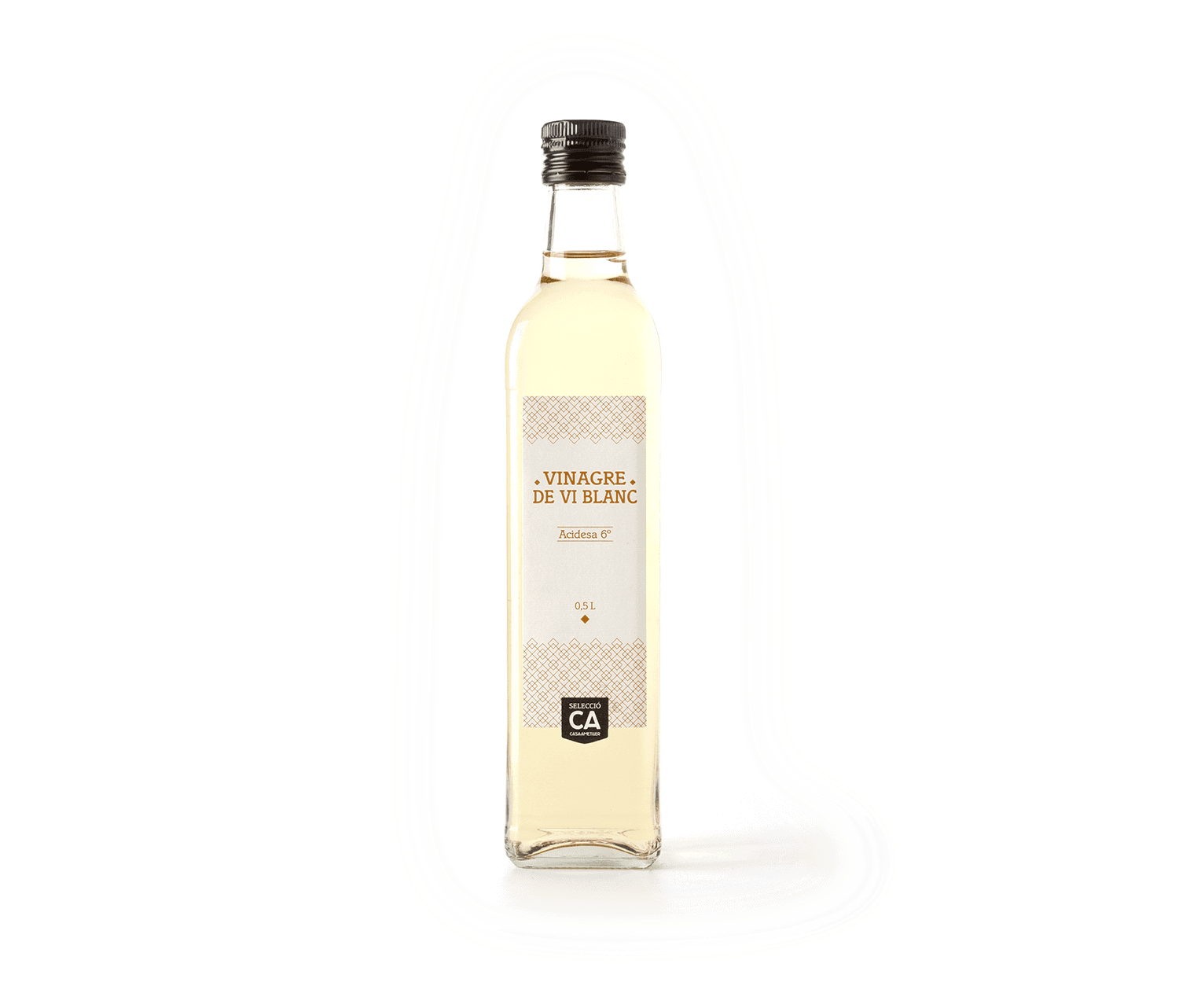 Vinagre vino blanco CA 500ml