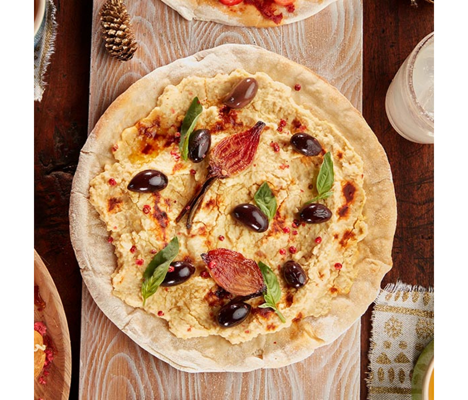 PIZZA D'HUMMUS