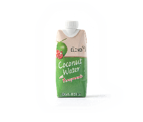 Agua coco y granada The Elements 330ml