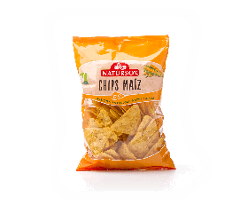 Chips maíz natural Natursoy 125g