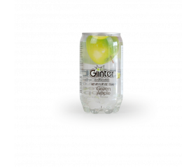 Agua con gas manzana GLINTER 350ml